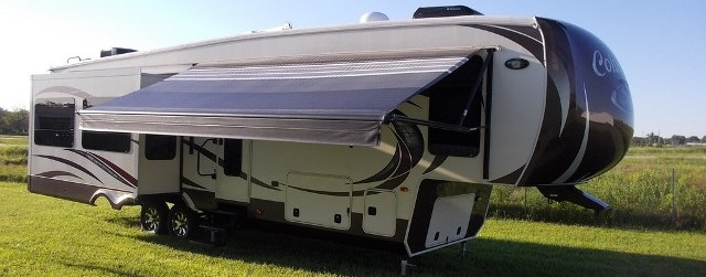 Rv Awnings Amp Slide Toppers From Stone Vos